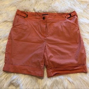 Lands End Women's Shorts Size 14 Coral